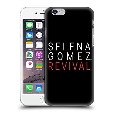 Official Selena Gomez Revival Art Tour Logo Hard Back Case For Apple Iphone 6 / 6S