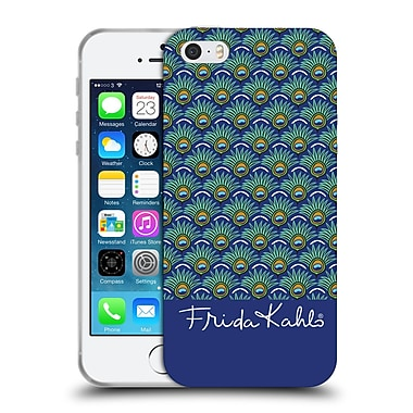 Official Frida Kahlo Peacock Feather Pattern Soft Gel Case For Apple Iphone 5 / 5S / Se