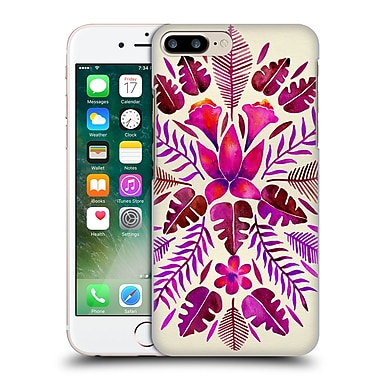 Official Cat Coquillette Nature Magenta Tropical Symmetry Hard Back Case For Apple Iphone 7 Plus