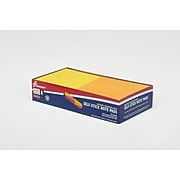 """Skilcraft Standard Notes, 3"""" x 3"""" Assorted Neon Colors, 100 Sheets/Pad, 6 Pads/Pack (7530-01-418-1281)"""