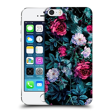 Official Riza Peker Flowers Floral Iii Hard Back Case For Apple Iphone 5 / 5S / Se
