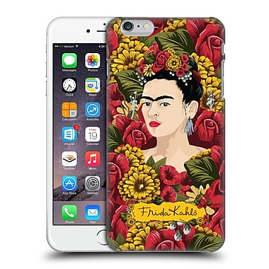 Official Frida Kahlo Red Florals Portrait Pattern Hard Back Case For Apple Iphone 6 Plus / 6S Plus