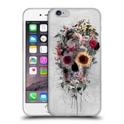 Official Riza Peker Skulls 4 Floral Soft Gel Case For Apple Iphone 6 / 6S