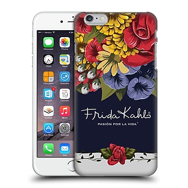 Official Frida Kahlo Red Florals Blooms Hard Back Case For Apple Iphone 6 Plus / 6S Plus