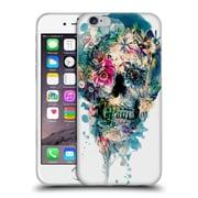 Official Riza Peker Skulls 3 Skull St - Ii Soft Gel Case For Apple Iphone 6 / 6S