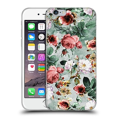 Official Riza Peker Flowers 2 Floral I Soft Gel Case For Apple Iphone 6 / 6S
