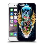 Official Riza Peker Skulls 4 Vivid Ii Soft Gel Case For Apple Iphone 6 / 6S