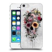 Official Riza Peker Skulls 4 Floral Hard Back Case For Apple Iphone 5 / 5S / Se