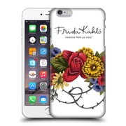 Official Frida Kahlo Red Florals Bunch Hard Back Case For Apple Iphone 6 Plus / 6S Plus