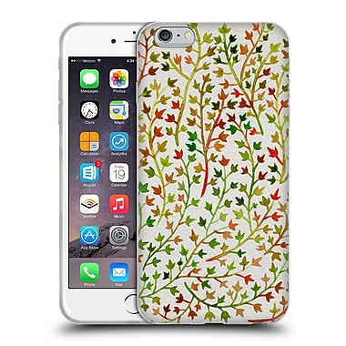 Official Cat Coquillette Patterns Ivy Fall Soft Gel Case For Apple Iphone 6 Plus / 6S Plus