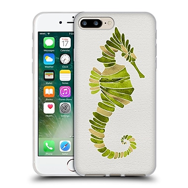 Official Cat Coquillette Sea Seahorse Green Soft Gel Case For Apple Iphone 7 Plus