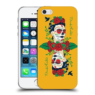 Official Frida Kahlo Icons Mirror Soft Gel Case For Apple Iphone 5 / 5S / Se