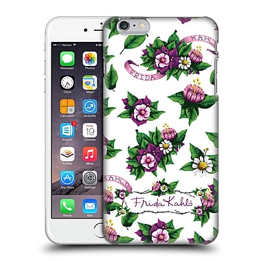 Official Frida Kahlo Purple Florals Pattern Hard Back Case For Apple Iphone 6 Plus / 6S Plus