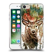 Official Riza Peker Animals Deer Soft Gel Case For Apple Iphone 7