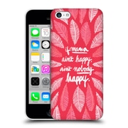 Official Cat Coquillette Quotes Typography 1 If Mama Ain'T Happy Pink Hard Back Case For Apple Iphone 5C