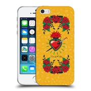 Official Frida Kahlo Icons Heart And Roses Soft Gel Case For Apple Iphone 5 / 5S / Se