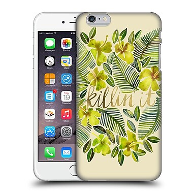 Official Cat Coquillette Quotes Typography 4 Killin' It Yellow Hard Back Case For Apple Iphone 6 Plus / 6S Plus