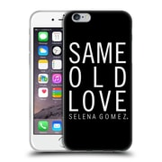 Official Selena Gomez Revival Art Same Old Love Soft Gel Case For Apple Iphone 6 / 6S