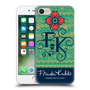 Official Frida Kahlo Coyoacan Patterns Monogram Hard Back Case For Apple Iphone 7
