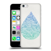 Official Cat Coquillette Watercolour Illustrations 2 Ombre Water Drop Hard Back Case For Apple Iphone 5C