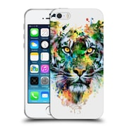 Official Riza Peker Animals 2 Tiger Soft Gel Case For Apple Iphone 5 / 5S / Se