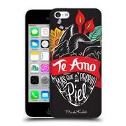 Official Frida Kahlo Typography Heart Hard Back Case For Apple Iphone 5C