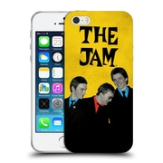 Official The Jam Key Art In The City Retro Soft Gel Case For Apple Iphone 5 / 5S / Se