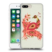 Official Cat Coquillette Birds Peacock Pink Soft Gel Case For Apple Iphone 7 Plus