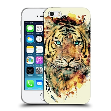 Official Riza Peker Animals 2 Tiger Ii Soft Gel Case For Apple Iphone 5 / 5S / Se