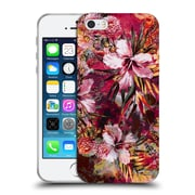 Official Riza Peker Flowers Floral I Soft Gel Case For Apple Iphone 5 / 5S / Se