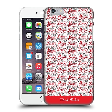Official Frida Kahlo Typography Lover Red Hard Back Case For Apple Iphone 6 Plus / 6S Plus
