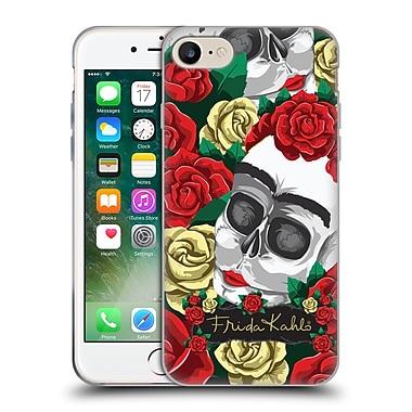 Official Frida Kahlo Roses Pair Skull Soft Gel Case For Apple Iphone 7