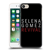 Official Selena Gomez Revival Art Tour Logo Hard Back Case For Apple Iphone 7