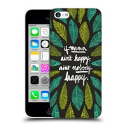 Official Cat Coquillette Quotes Typography 1 If Mama Ain'T Happy Black Green Hard Back Case For Apple Iphone 5C