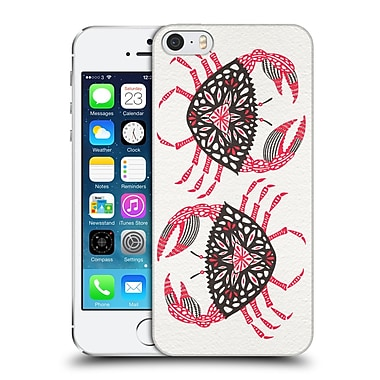 Official Cat Coquillette Sea Pink Crab Hard Back Case For Apple Iphone 5 / 5S / Se