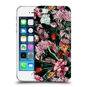 Official Riza Peker Flowers 2 Floral Ix Soft Gel Case For Apple Iphone 5 / 5S / Se