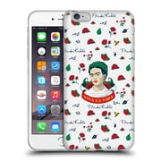 Official Frida Kahlo Icons Rose Patterns Soft Gel Case For Apple Iphone 6 Plus / 6S Plus