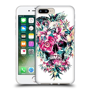 Official Riza Peker Skulls Momento Mori Ii Soft Gel Case For Apple Iphone 7 Plus