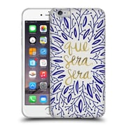 Official Cat Coquillette Quotes Typography 5 Whatever Will Be Navy Gold Soft Gel Case For Apple Iphone 6 Plus / 6S Plus