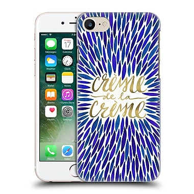 Official Cat Coquillette Quotes Typography 2 Creme De La Creme Navy Hard Back Case For Apple Iphone 7
