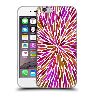Official Cat Coquillette Mandala Burts Pink Soft Gel Case For Apple Iphone 6 / 6S