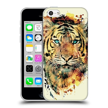 Official Riza Peker Animals 2 Tiger Ii Soft Gel Case For Apple Iphone 5C