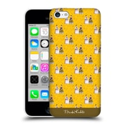 Official Frida Kahlo Self-Portraits Pattern Yellow Hard Back Case For Apple Iphone 5C