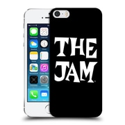Official The Jam Key Art Black White Logo Hard Back Case For Apple Iphone 5 / 5S / Se