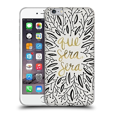 Official Cat Coquillette Quotes Typography 5 Whatever Will Be Black Gold Soft Gel Case For Apple Iphone 6 Plus / 6S Plus