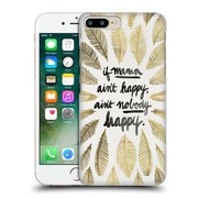 Official Cat Coquillette Quotes Typography 1 If Mama Ain'T Happy Gold Hard Back Case For Apple Iphone 7 Plus