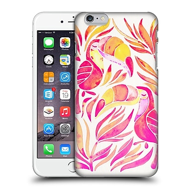 Official Cat Coquillette Birds Toucans Melon Ombre Hard Back Case For Apple Iphone 6 Plus / 6S Plus