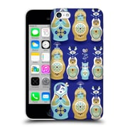 Official Cat Coquillette Watercolour Illustrations Russian Nesting Dolls Navy Hard Back Case For Apple Iphone 5C