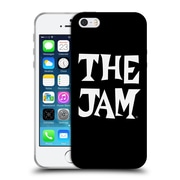 Official The Jam Key Art Black White Logo Soft Gel Case For Apple Iphone 5 / 5S / Se