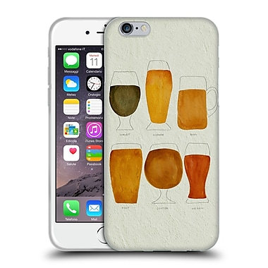Official Cat Coquillette Mixed Drinks Beer Soft Gel Case For Apple Iphone 6 / 6S